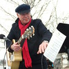 Local talent, Dave Childers led the guests in various Christmas songs.