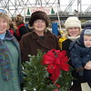 Mayor Elect Eileen Bulan on left with wreath purchaser Kathy--need more names !