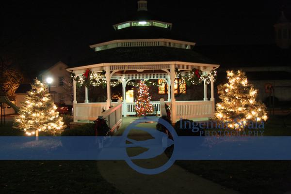 November 28, 2009, Lighting of THE City Christmas Tree at Victory Park