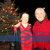 Mayor Jean Anderson and Lil Stack, Vermilion resident.