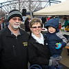 Ron and Kathy Johnston with grandson Cole.
