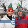 Sisters Tina Swinehart and Ann Maiden looking good with the official Tree hats each year.