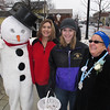 Snowman is Bethany Rutgers,Tammy and Lauren Pawlowski with Janet Ruh.