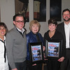 Jo Anne Howley, 2014 Main Street Vermilion President, Jim Vickers, OHIO magazine, Editor, Eileen Bulan, Vermilion Mayor, Linda Tallitsch, Main Street Vermilion Director and Matt Moore, OHIO Magazine Acct Executive.