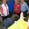 Rotary volunteers: Pam Reese, John Hill, Bobbie and Bob Kyle.