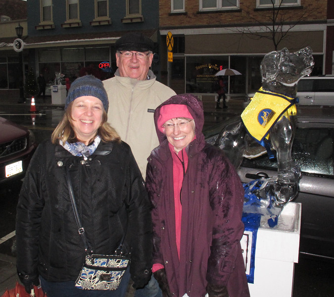 Sandy Dovola, Terry and Sandy Parker from Vermilion.