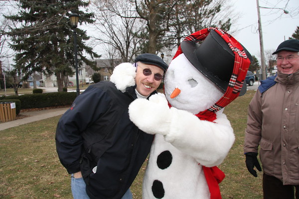 Frosty finds another friend, Sid Jordan, from Vermilion.