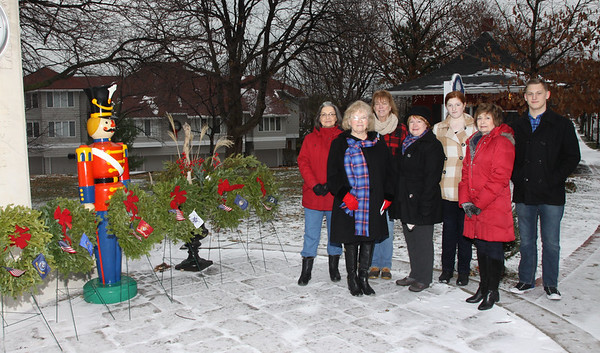 December 16, 2016, Vermilion's Daughters of American Revolution remembers its Service people.