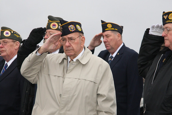 December 7, 2011, 70 years ago, Vermilion remembers Pearl Harbor Day