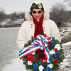 Maria Wicker, Presenter of the Pearl Harbor Memorial Wreath.