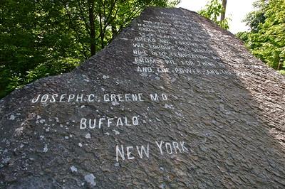 The Lord's Prayer Rock Bristol, Vermont