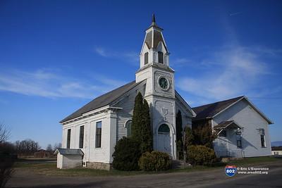 West Addison Methodist Church 1840, Addison, VT