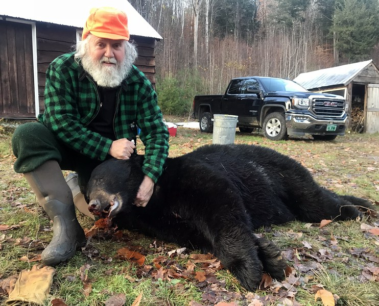 2018 - Mike Currie, Windsor Co., 402 lbs. clean. Scored 19 2/16.