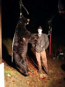 Raymond Lamare, Lamoille Co., 328 lbs., 2019 Archery