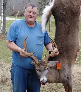 Charles Needham, Windsor Co., 212 lbs., 2017 Rifle. Scored 128 5/8.