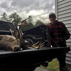 Brian Vargo, Bennington Co., 171 lbs., 2017 Rifle. Scored 129 0/8.