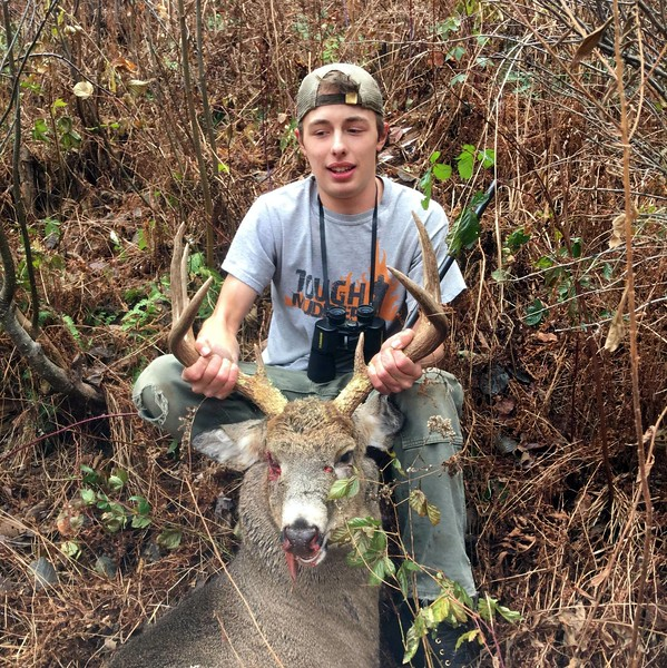 Andrew Crossman, Windsor Co., 163 lbs., 2017 Rifle