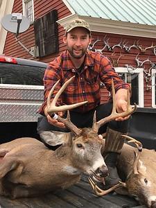 Chase Jenne, Windsor Co., 158 lbs., 2017 Muzzleloader