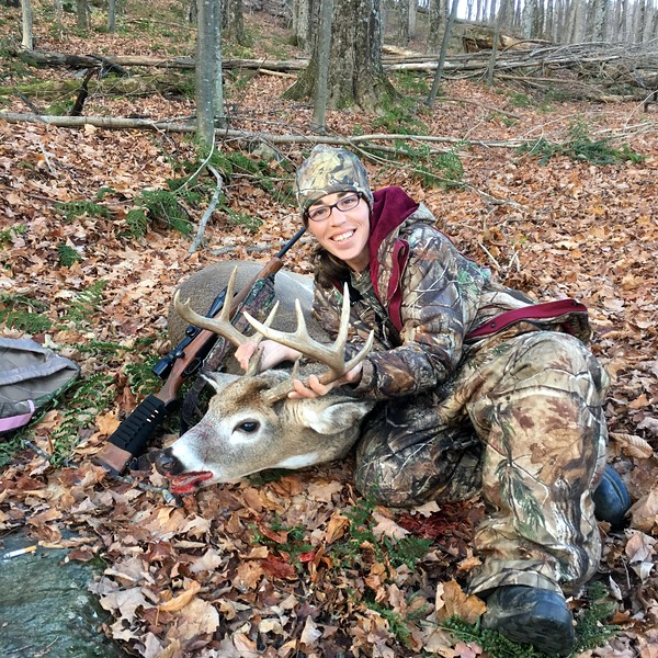 Amy Ferguson, Bennington Co., 170 lbs., 2017 Rifle