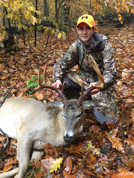 Dylan Greenwood, Windham Co., 168 lbs., 2018 Youth. Scored 125 5/8.