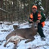 Kevin Theriault, Essex Co., 210 lbs., 2018 rifle.