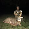 Steve Devost, Essex Co., 2019 Archery, 248 lbs., green scored 142 2/8.