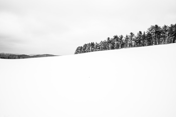 Winter Hillside / Norwich, Vermont
