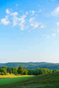 Bragg Hill Morning / Norwich, Vermont