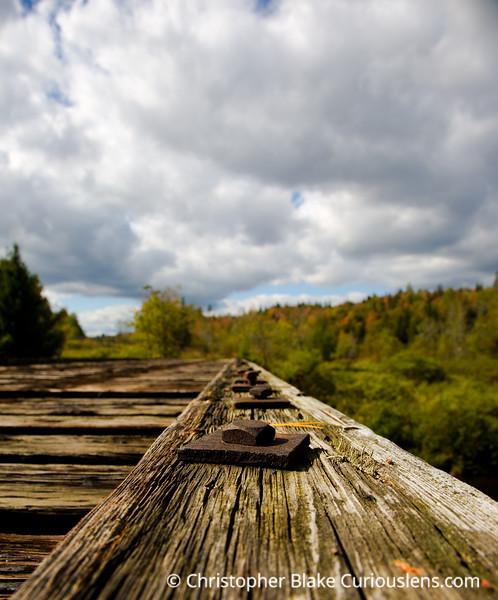 Rail Road Bridge - Vermont