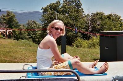 Alpine Slide - Stowe, Vermont 6-25-05