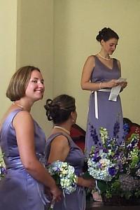 Kristen reads the Indian Wedding Prayer