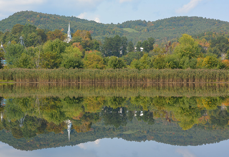 Connecticut River Reflection