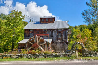 Grist Mill near South Cambridge VT, now a home