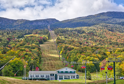 Stowe Mountain Resort gondolas