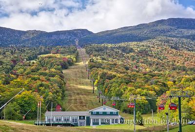 Stowe Mountain Resort gondolas