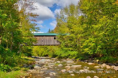 1872 Covered Bridge Near South Cambridge VT