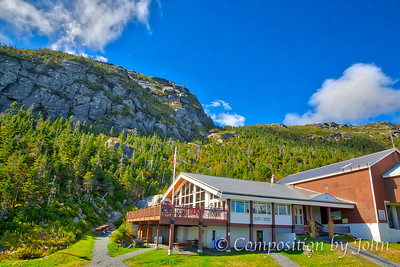 Restaurant just a few hundred feet below the summit of Mount Mansfield at Stowe Mountain Resort
