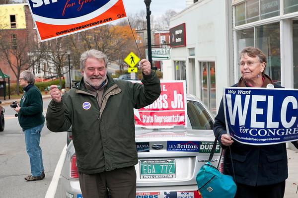 Peter Shumlin Honk & Wave