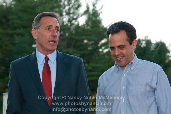 Matt Dunne Hosts Party For Peter Shumlin