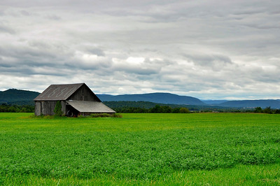 Historic barn in Vermont