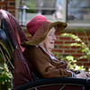 David LaChance — Bennington Banner<br /> Ethyl Bourn enjoys time with her visitors at the Vermont Veterans' Home in Bennington on Sunday.