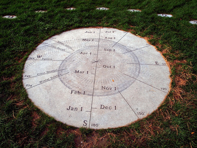 Burlington Earth Clock
