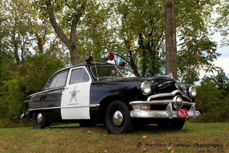 Bennington, VT         Ford Police Car    #537