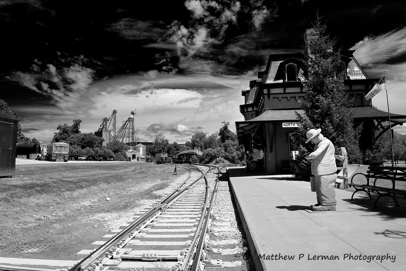 472 Train Station N Bennington 2852 b-w
