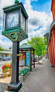 Chittenden Trust  Clock, Bennington, VT  #894