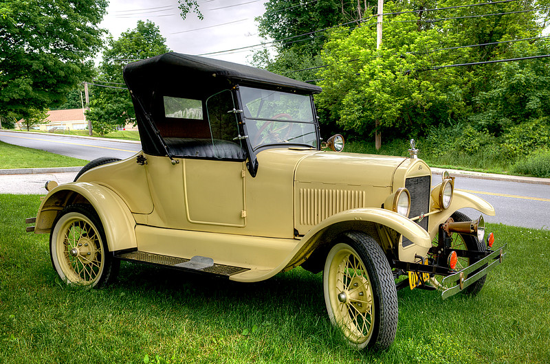 Model T Ford  #884
