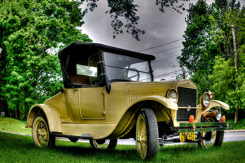 Model T Ford   #885