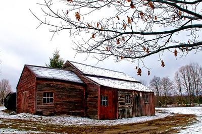 Old Barn, N. Bennington  #897