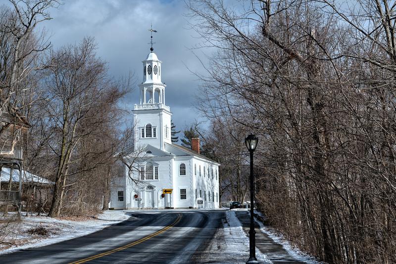 First Congregational Church, Bennington, VT  #902