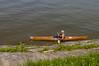 Kayaker enjoying the day